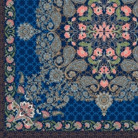 Scarf Paisley with Floral Mix