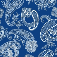 Paisley with Leaf Motif Mix