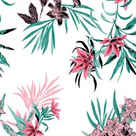 Tropical Leaf Floral