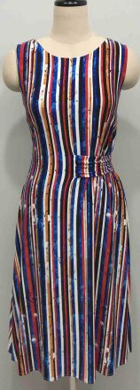 Multi-color sequin stripe