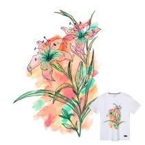 Floral Illustration T-shirt