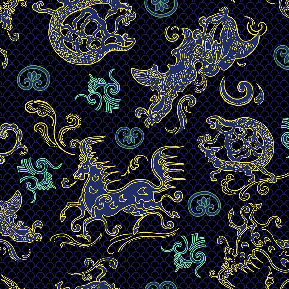 Shilla Dynasty Pattern